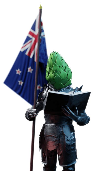 The Duke will help you learn about New Zealand hops.