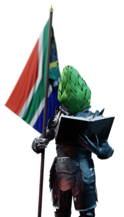 The Duke will help you learn about South African hops.