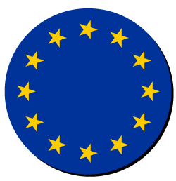 European flag logo