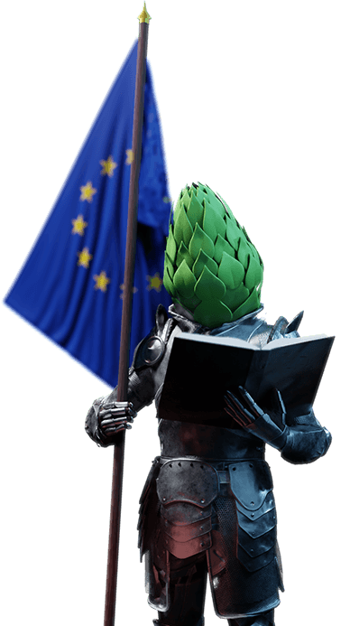 The Duke will help you learn about European hops.
