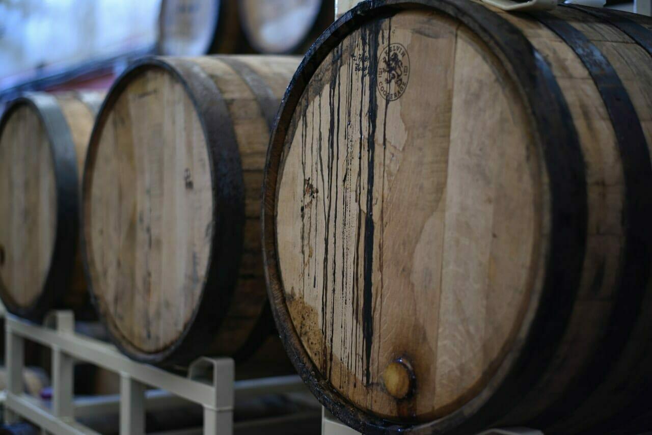 Used Oak Barrels from John Fearless